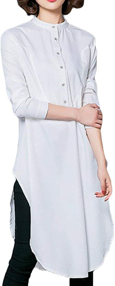 Somoll Camisa de Fiesta árabe Suelta Casual para Mujer ...