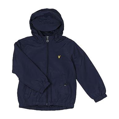 cd5d983c6 Lyle and Scott Junior - Shell Jacket, Deep Indigo, 7-8 yrs: Amazon.co.uk:  Clothing