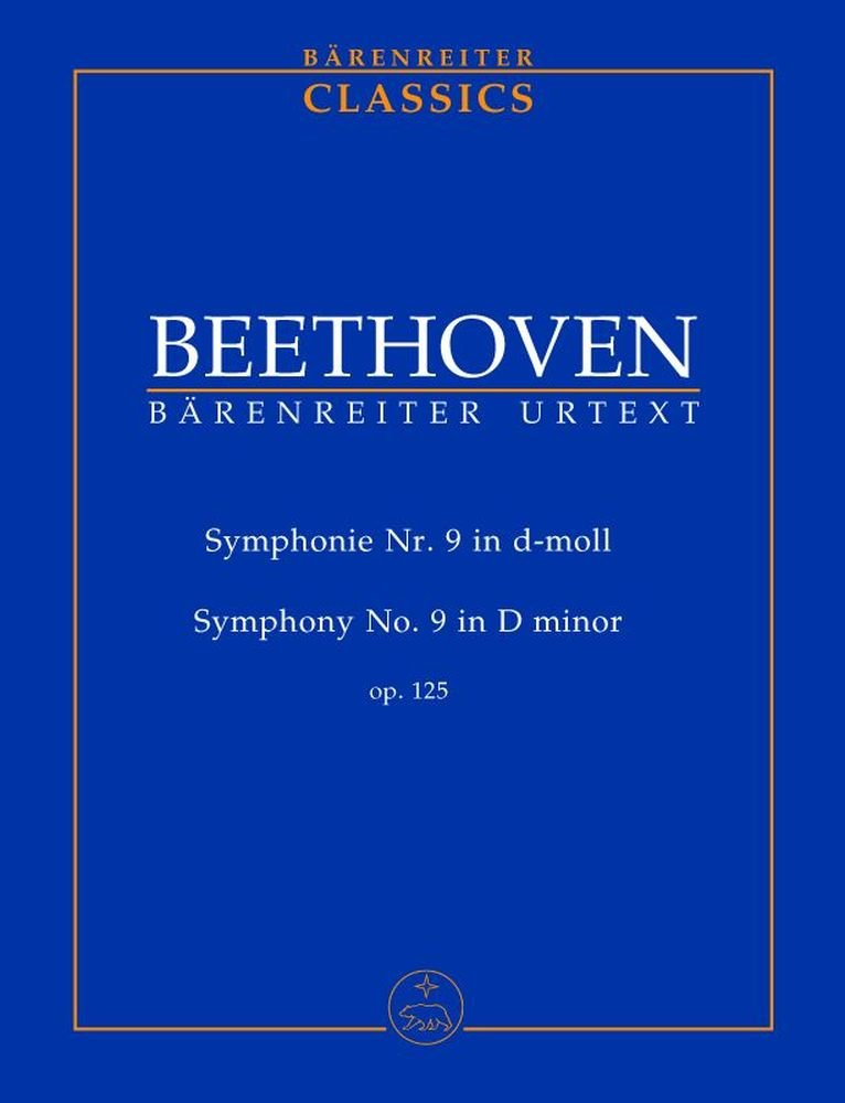 Sinfonie Nr. 9 d-Moll op. 125 (mit Schlusschor
