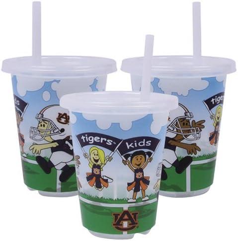 オーバーンTigers to-go Sippy Cup 3- Pack