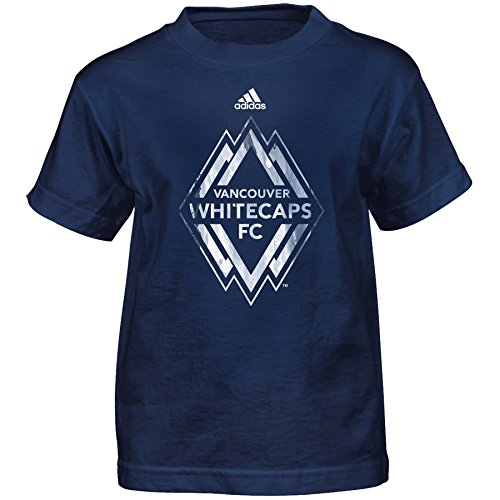 MLS Vancouver Whitecaps Boys -War Paint Logo Short Sleeve Te