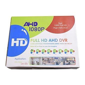 Sistema de cámaras de seguridad kit 4, 1080P Full HD AHD DVR 4 Canales CCTV Direct, Cámaras IR Visión: Amazon.es: Industria, empresas y ciencia
