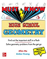 Must Know High School Geometry Front Cover