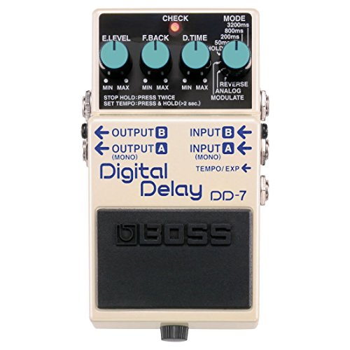 Boss DD-7 Digital Delay Guitar Effects Pedal with 1 Year EverythingMusic Extended Warranty Free