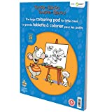Toopy and Binoo - Large Colouring Pad for Little Ones