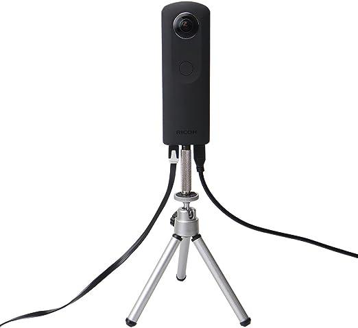 4 5 6 Session Xiaomi Yi XT-XINTE 360-Grad-Drehung 12 Richtungen Kamera CNC-Anschluss Stativ Mount Adapter f/ür GoPro Hero 3