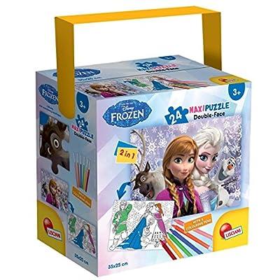 Lisciani Giochi Frozen Puzzle In A Tub Mini 24 Pezzi 35 X 50 Cm 652330