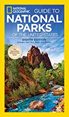 National Geographic'sflagship, best-selling guide covers all 59 national parks in the U.S. for nature and outdoor lovers everywhere. Intensive on-the-ground research, 300 photos and 80 colorful maps complete the extraordinary package. Practi...