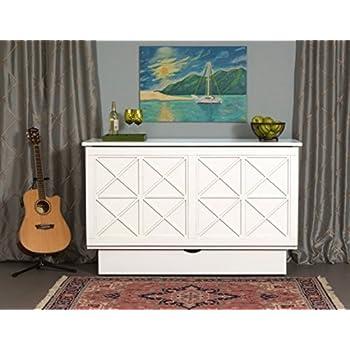 arason essex credenzzz cabinet bed white