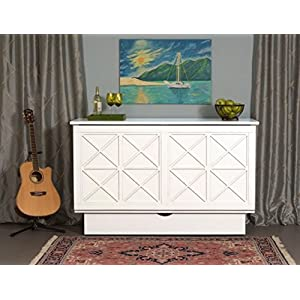 Arason Essex Creden-ZzZ Cabinet Bed (White)