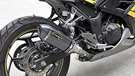 Sistema de escape antideslizante para motocicleta con ...