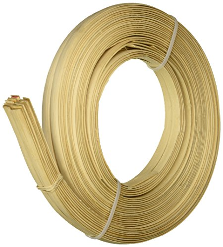 Commonwealth Basket Flat Oval Reed 1/2-Inch 1-Pound Coil, Approximately, 90-Feet (Reed 1 Flat)