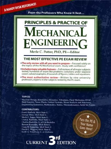 Principles and Practice of Mechanical Engineering Review
