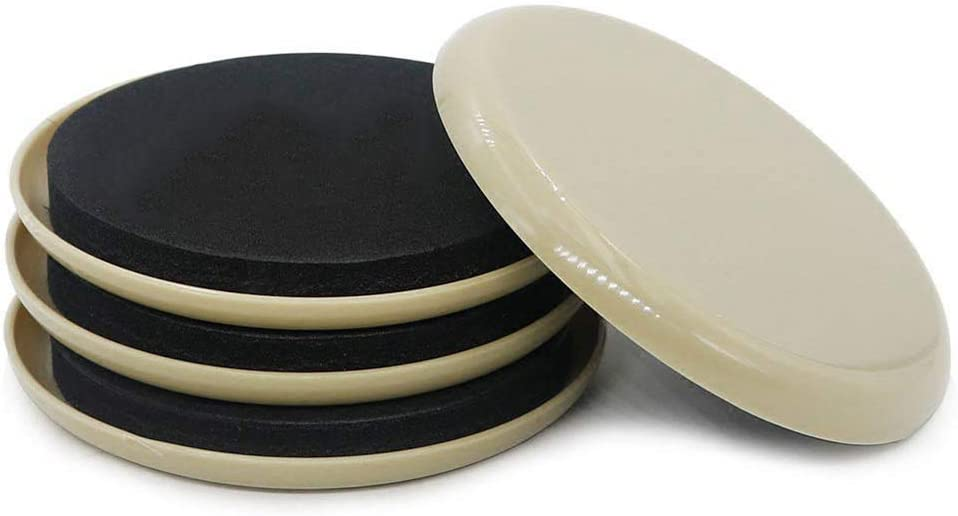 Furniture Sliders,Reusable Heavy Furniture Movers - Multi-Surface Sliders for Carpet - Furniture Movers Hardwood Floors, Move Your Furniture Easy ON Any Surface!
