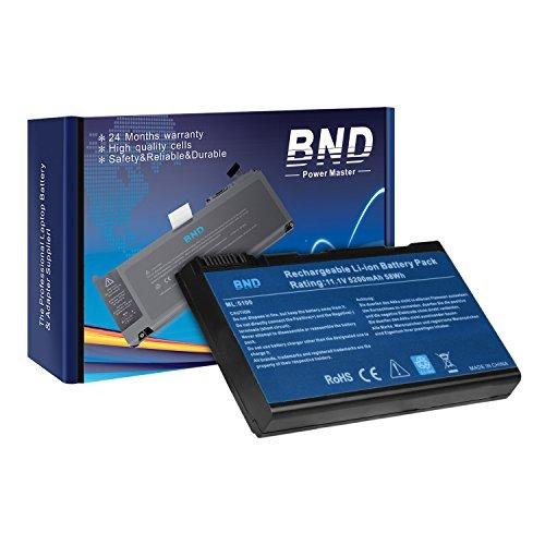 BND Laptop Battery [with Samsung Cells] for Acer BATBL50L6, Acer Aspire 5515 5100 3100 5610 5630, Travelmate 2490, also fits BATBL50L8H BATBL50L4 BATBL50L8H - 24 Months Warranty [6-Cell 5200mAh/58Wh] by BND (Image #6)