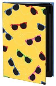 Keka Classic - Funda rígida para iPhone 4 y 4s (diseño de gafas de sol de Jess Williams, fijación a presión), multicolor