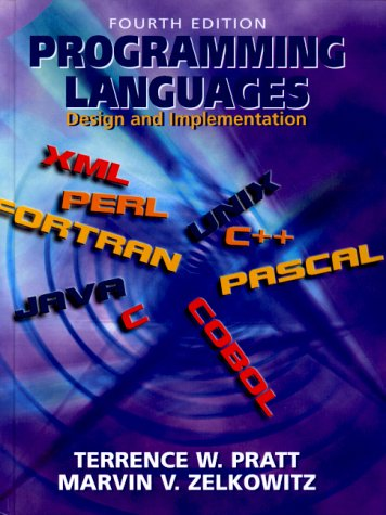 Programming Languages: Design and Implementation (4th Edition) by Prentice Hall