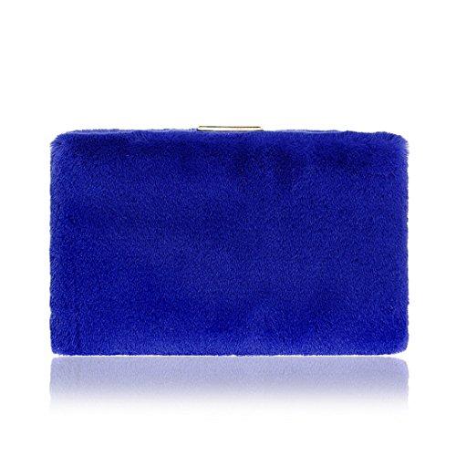 Rose FUBULE Pochette Bleu Rose pour Femme Zw6wq0Ua