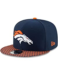 Denver Broncos New Era 9Fifty 2017 On Field Sideline Snapback Hat