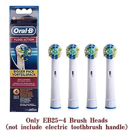 Minebdfe Oral B Vitality Cepillo de Dientes eléctrico Cepillo Recargable Giratorio Cabezales Dientes Cepillo Higiene Oral