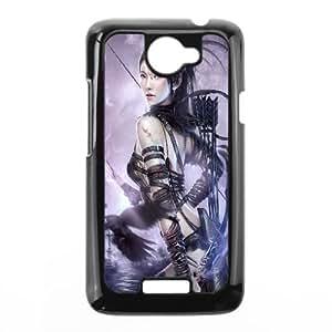 Archer Princess Fantasy HTC One X Cell Phone Case Black DIY Ornaments xxy002-3630891