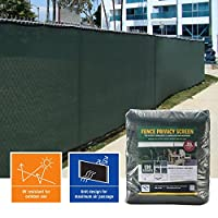 Privacy Fence Screen (6 ft. x 50 ft., Forest Green)