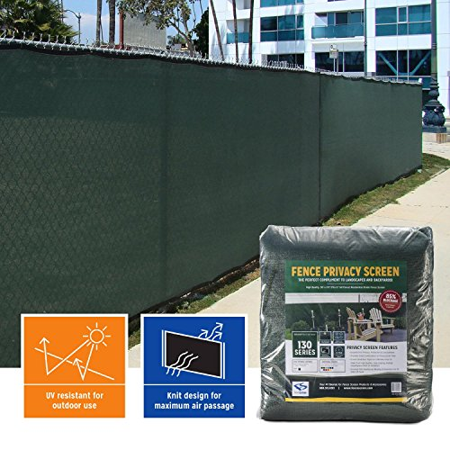 - Privacy Fence Screen (6 ft. x 50 ft., Forest Green)