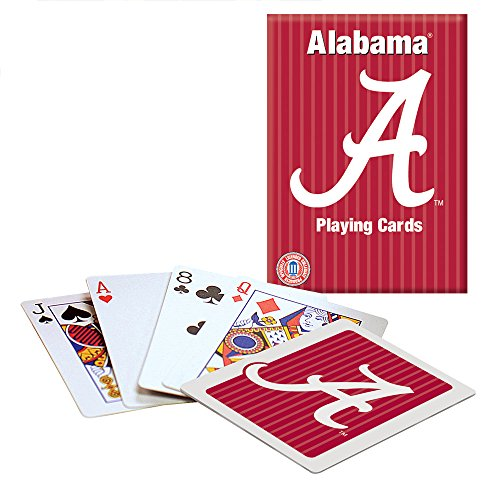 Alabama Playing Cards Alabama Crimson Tide Playing Card