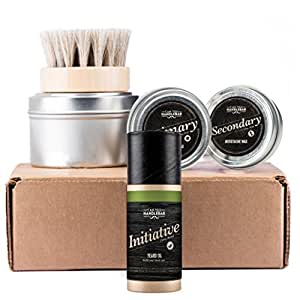 CanYouHandlebar Basic Beard Care Kit : Initiative Beard Oil Bottle