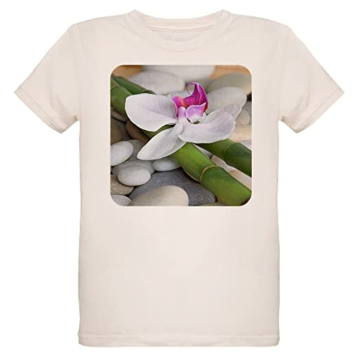 a39e99c0b8 Royal Lion Organic Kids T-Shirt Orchid Bamboo and River Stones - Small (8