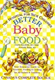 Better Baby Food, Daina Kalnins and Joanne Saab, 077880030X