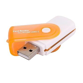 Adaptador USB 2.0 lector de tarjetas de memoria Flash Drive ...