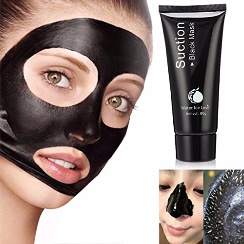 LuckyFine Blackhead Remover Mask Deep Cleansing Purifying Peel Off Blackhead Absorbing Pores Stubborn Dirt