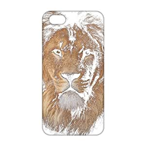 diy zhengCool-benz Strong lion 3D Phone Case for Ipod Touch 4 4th /