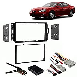 fits pontiac grand prix 04 08 double din harness radio install dash kit car electronics. Black Bedroom Furniture Sets. Home Design Ideas