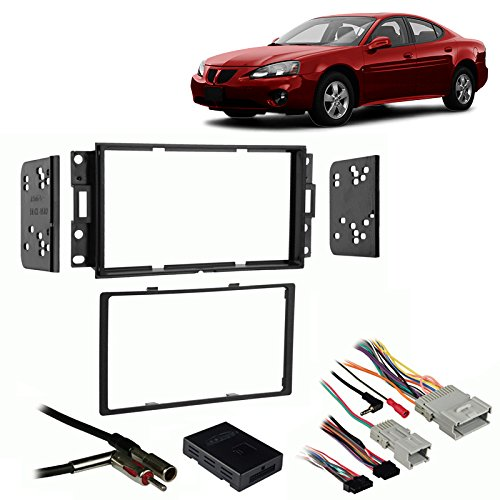 Pontiac Grand Prix Installation (Fits Pontiac Grand Prix 04-08 Double DIN Harness Radio Install Dash Kit)