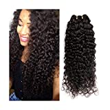 Brazilian Straight Hair Bundles With Closure Natural Color Human Hair 3 Bundles With Lace Closure Human Hair Extensions,12 12 12 with 12,Middle Part