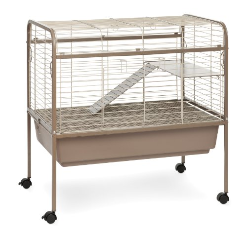 Prevue Hendryx 425 Pet Products Small Animal Cage with Stand, 32-Inch by 21-1/2-Inch by 33-1/2-Inch