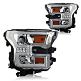 Winjet WJ10-0427-01 Chrome Housing/Clear Lens Projector H...