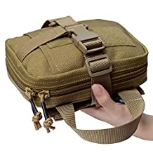 Quick Detachable Tactical Molle Medical EMT Pouch Ifak First Aid Bag Only Military Utility Pouches