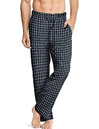 Men's ComfortSoft Cotton Printed Lounge Pants-b