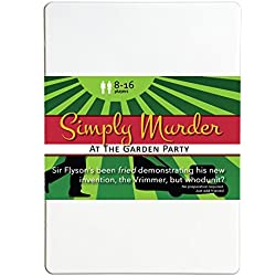 Simply Murder at the Garden Party 8-16 Player Murder Mystery Flexi Party Game
