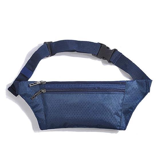 b3c2a1c15d TSenTr Fanny Pack Waist Bag Travel Pocket Sling Chest Shoulder Bag Phone  Holder Running Belt With