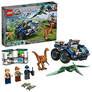 LEGO Jurassic World Gallimimus and Pteranodon Breakout 75940, Dinosaur Building Kit for Kids, Featuring Owen Grady…