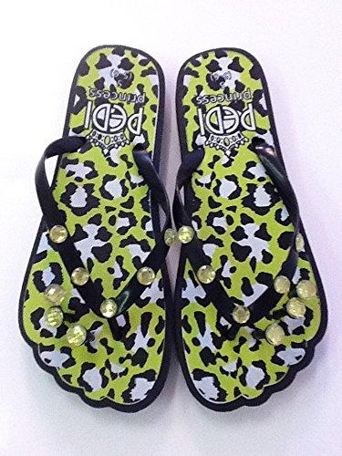 1cb541799abef Image Unavailable. Image not available for. Color  Pedi Princess Pedicure  Flip Flops ...