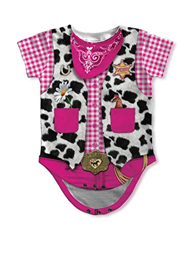 Infant Cowgirl Costumes (Infant: Cowgirl Costume Romper Infant Onesie Size 18 Mos)