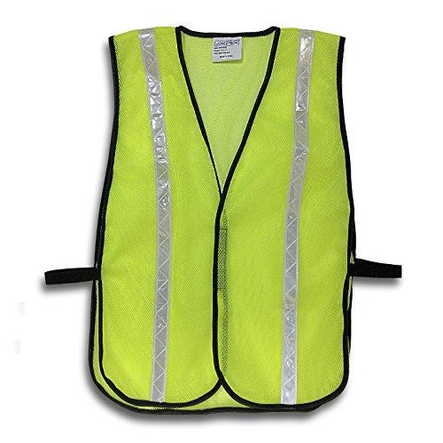 JORESTECH Emergency High visibility safety vest with reflective stripes (One Vest, Yellow) (Vests Safety Lights)