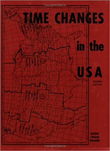 Time Changes In The USA Doris Chase Doane - When time change in usa