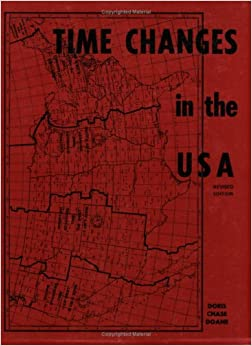 Time Changes In The USA Doris Chase Doane - Time changes in us