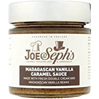 Joe & Seph's Madagascan Vanilla Caramel Sauce 230g (Pack of 6)